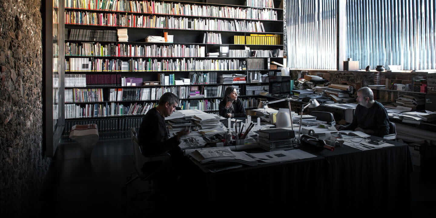 starchitect Barberí Laboratory work space
