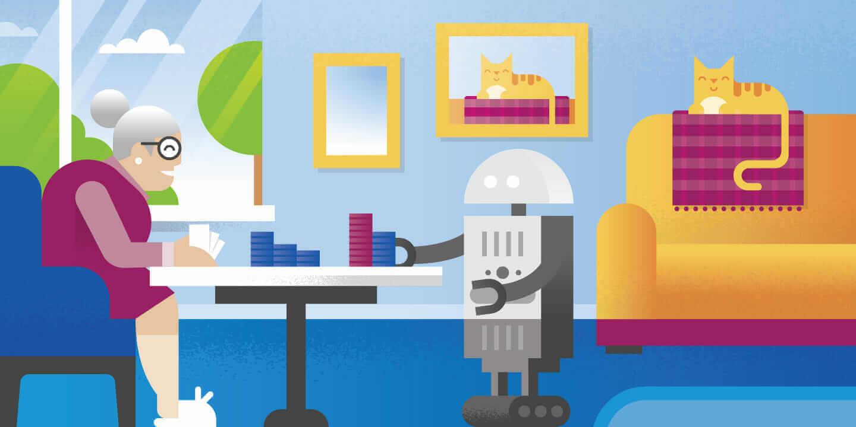 sağlık hizmeti robotları