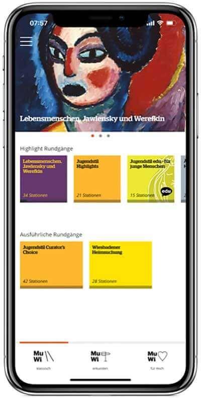 wiesbaden müzesi uygulama jawlensky sergisi