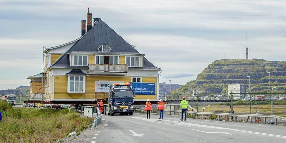 Maden Faaliyetleri Sonucu Yere Batan Kasaba Kiruna Taşınıyor