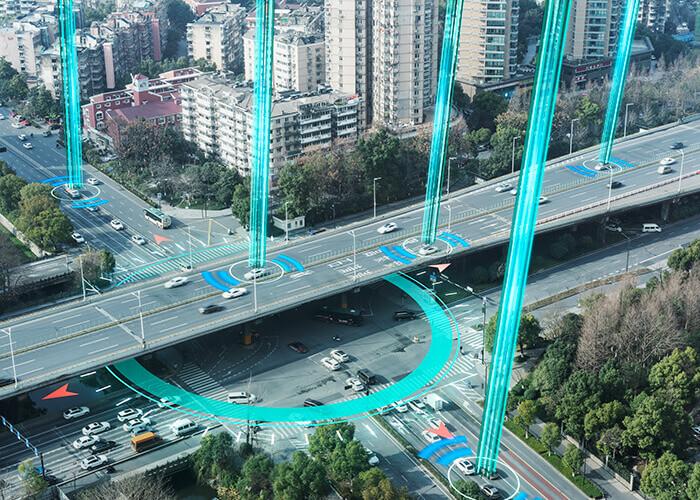 yollar bağlantı noktaları arabalar